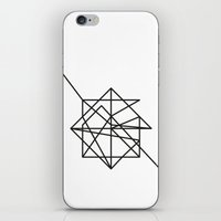 the wire iPhone & iPod Skins featuring Wire by FLATOWL