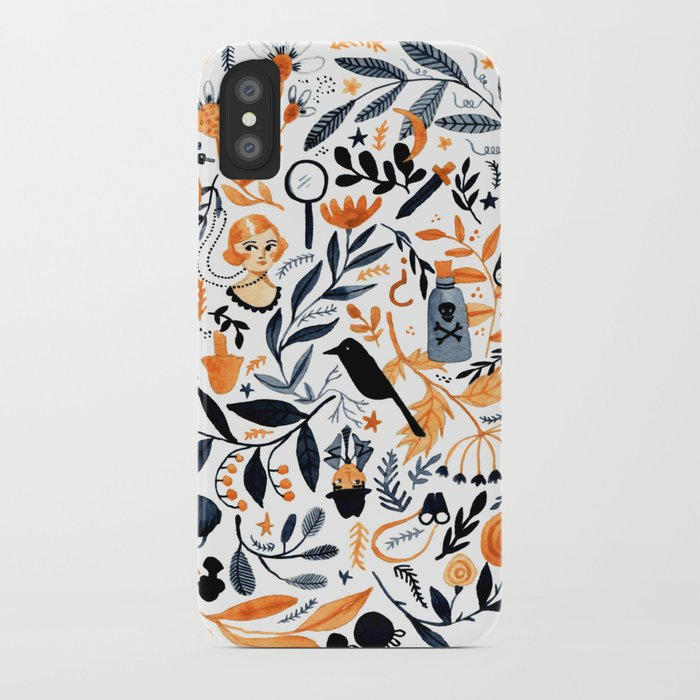 A Mysterious Mystery iPhone Case