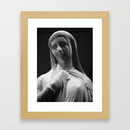 life in stone Framed Art Print