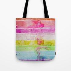 Fruity Stripe Tote Bag