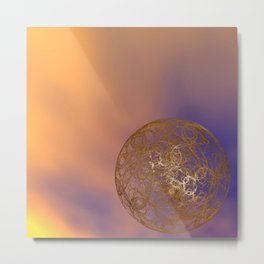 ornamental Metal Print