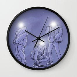 thee Enlightened: Chapter 3 - Together / Unity Wall Clock