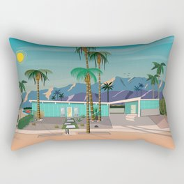 Palm Springs Vacation Home Rectangular Pillow