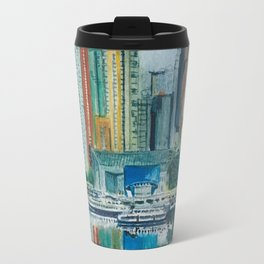 Images of False Creek, Vancouver Travel Mug