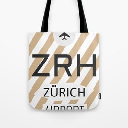 ZRH Alpine Chocolade Tote Bag