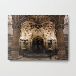 Under the Staircase Metal Print