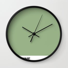 PANTOMIME - peppermint joy Wall Clock