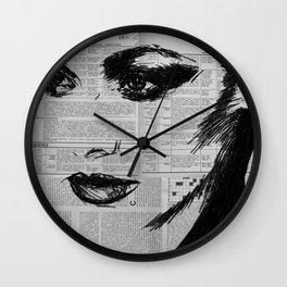 To late Wall Clock