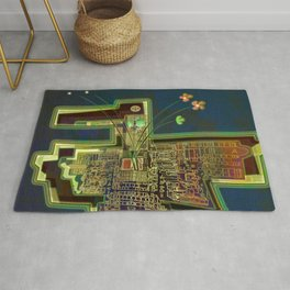 Good Vibes from the Robotic City Lab Rug