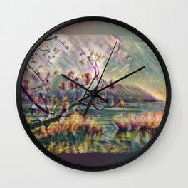 Oileán Na St. Leger Wall Clock