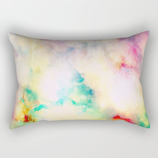 Fume Color Splash 03 Rectangular Pillow