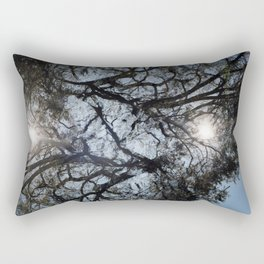 Arterial California TREES Rectangular Pillow