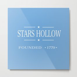 Stars Hollow, Gilmore Girls Metal Print