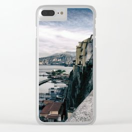 Marina of Sorrento Clear iPhone Case