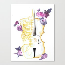 The Anatomy of Strings Canvas Print
