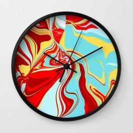 Acrylic Flow #1707 - Vainglorious Wall Clock