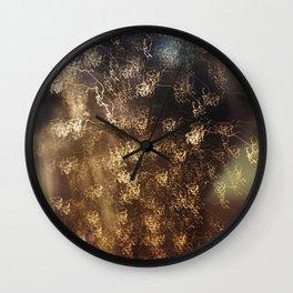 Night rain Wall Clock