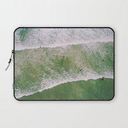 Waves bath Laptop Sleeve