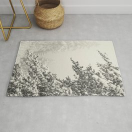 First snow fall Rug
