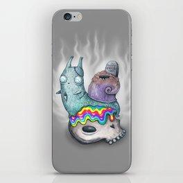 halloween snail 2 iPhone Skin