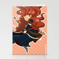merida Stationery Cards featuring Merida by Schewy