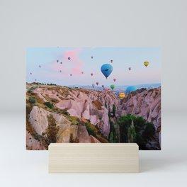 Cappadocia Sunrise Mini Art Print