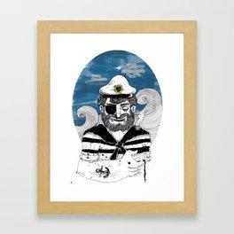 Capitão Framed Art Print