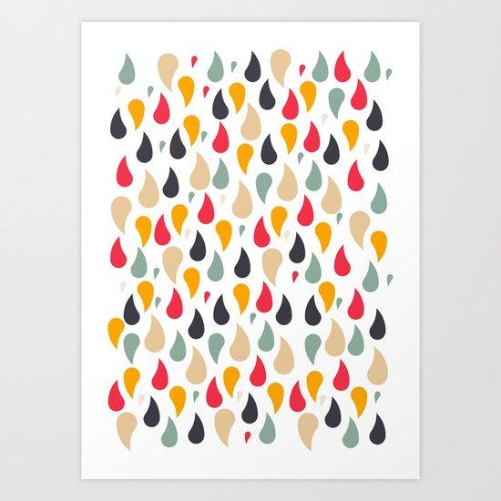 Ra'in Color Art Print