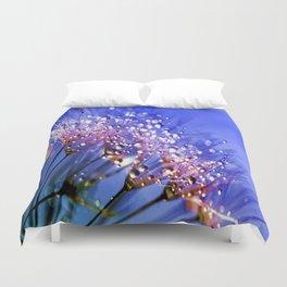 Fresh Dandelions Duvet Cover