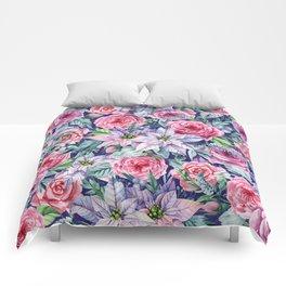 Romantic garden II Comforters
