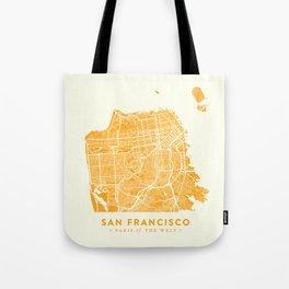 San Francisco City Map 03 Tote Bag