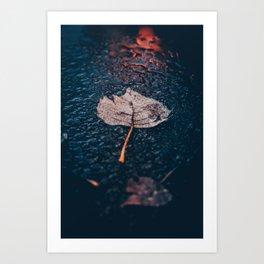 Floating Lead Art Print