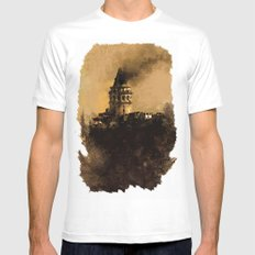istanbul  MEDIUM Mens Fitted Tee White