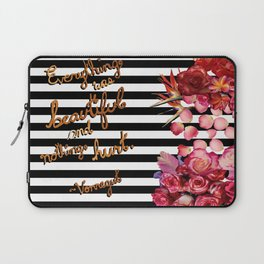 Everything Was Beautiful Laptop Sleeve