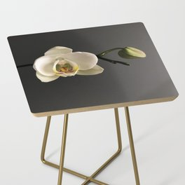 White Orchid by Teresa Thompson Side Table