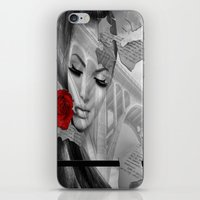 bridge iPhone & iPod Skins featuring Bridge by Müge Başak