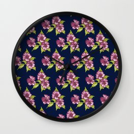 Jessica Blue Wall Clock