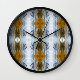Mountains & Antlers Wall Clock