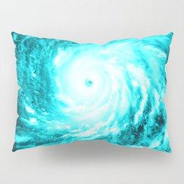 WaTeR Aqua Turquoise Hurricane Pillow Sham