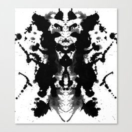 Classy Ink Canvas Print
