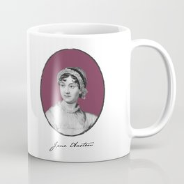 Authors - Jane Austen Coffee Mug