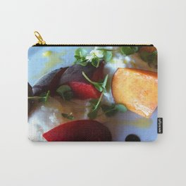 Burrata and Peaches Carry-All Pouch
