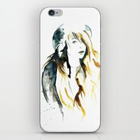 belle iPhone & iPod Skins featuring Belle by ne11amae