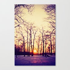Nothing Gold Can Stay Canvas Print