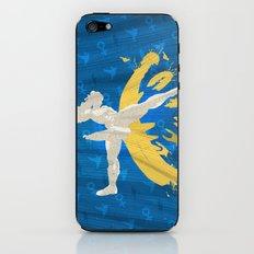 Kickin' It (An Homage To Chun-Li) iPhone & iPod Skin