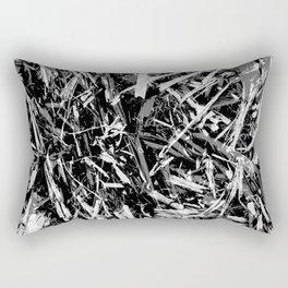 Straw black 2 Rectangular Pillow