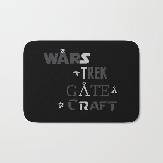 Geek All Stars Bath Mat