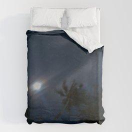 little paradise at night Duvet Cover