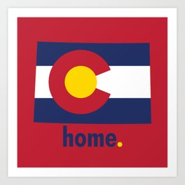 Colorado Proud Art Print