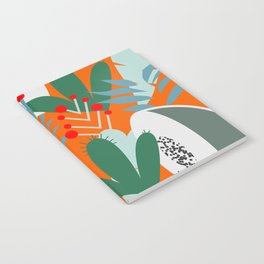 Cacti, fruits and flowers Notebook